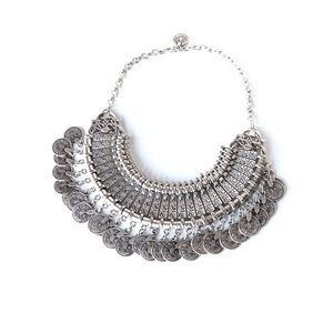 Jewelry - Silver Coin Necklace